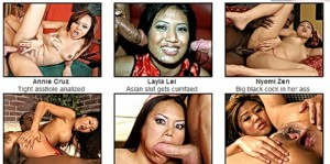 Asian sex fantasy today – two fat dicks!